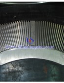 Tungsten alloy shielding body 91W-Ni-Fe