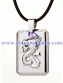 Tungsten steel pendant -0147
