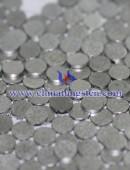 Tungsten alloy part