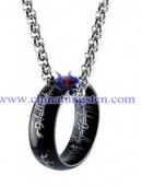 Tungsten steel necklace -0055