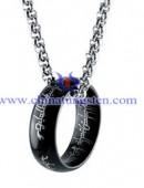 Tungsten steel necklace -0055
