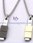 Tungsten steel necklace -0052