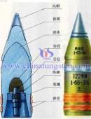 Tungsten alloy penetrators structure -0023