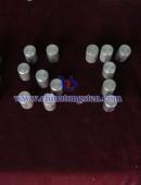 ø8 high specific gravity tungsten alloy column 95W-Ni-Cu