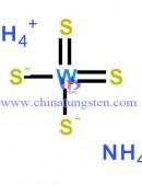 Ammonium Tetrathiotungstate Formula-0001