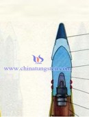 The structure of tungsten alloy penetrators -0018