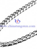 Tungsten steel necklace -0057