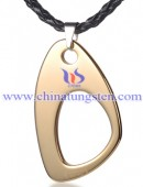 Tungsten steel pendant -0149