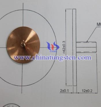 Tungsten Copper Part - 0001