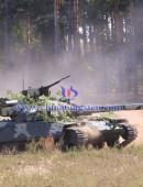 T-64BM2 tank reactive armor