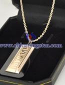 Tungsten steel necklace -0056