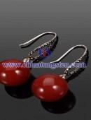 Tungsten steel earrings -0047