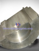 The industrial CT tungsten alloy shield