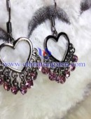 Tungsten steel earrings -0048
