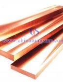 tungsten copper strips - 0016