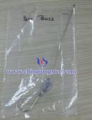 Of tungsten alloy droplets fishing sinker 2.51 oz
