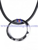 Tungsten steel pendant -0155