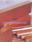 tungsten copper strips - 0010