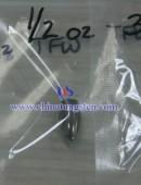 The tungsten alloy droplets fishing sinker 2.5 oz