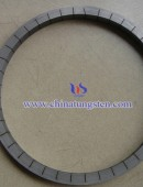 the phi 120 TUNGSTEM alloy ring 93W-Ni-Cu
