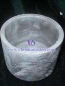 Diameter (50mm) high density tungsten alloy military crucible