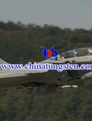 Tungsten alloy materials in use in fighter -0003
