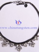 Tungsten steel necklace -0054