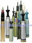 Tungsten alloy penetrators -0011