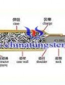 Tungsten alloy penetrators structure -0022