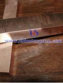 tungsten copper strips cuw75