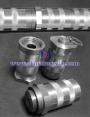 Tungsten alloy medical shield 75W-Ni-Fe